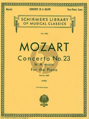 Mozart Concerto No.23 A-Major KV 488 Piano-Orch. (piano red.)