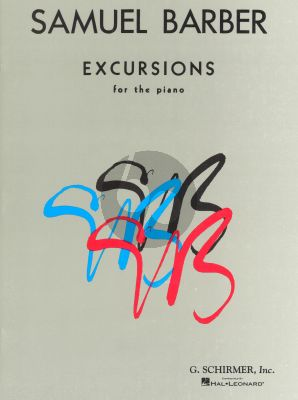 Excursions Op.20 Piano
