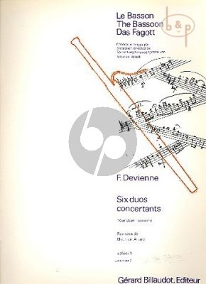 6 Duos Concertantes Op.3 Vol.2 (No.4 - 6)