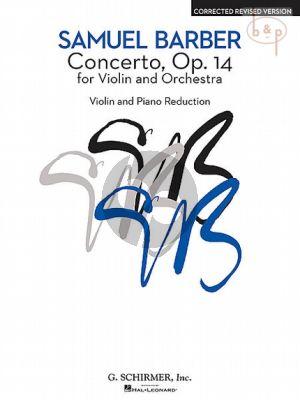 Concerto Op.14 Violin-Orchestra (piano red.)