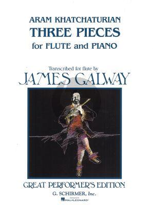 Khachaturian 3 Pieces flute-piano
