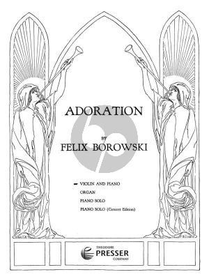 Borowski Adoration Viool-Piano