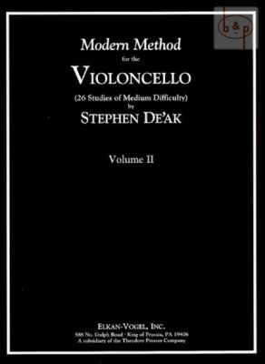 Modern Method for the Violoncello Vol.2