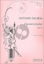 Zigeunermelodien op.55 (Alto/Baritone)