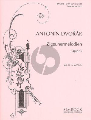 Dvorak Zigeunermelodien op.55 (Alto/Baritone) (germ./engl./czech.) (Simrock)