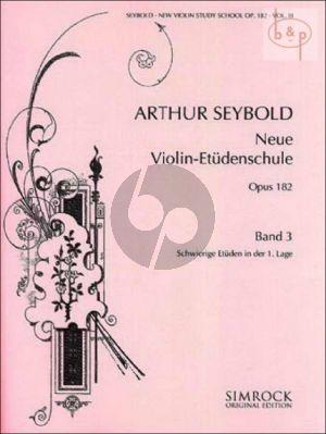 Neue Violin-Etuden Op.182 Vol.3
