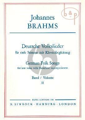 Deutsche Volkslieder Vol. 2 Low