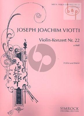Concerto No.22 a-minor (Violin-Orch.)