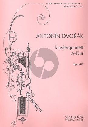 Quintet A-dur Op.81 2 Vi.-Va.-Vc.-Klavier