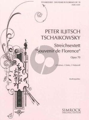 Souvenir de Florence Op.70 2 Vi.- 2 Va.- 2 Vc.
