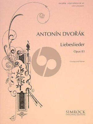 Dvorak Liebeslieder Op.83 High