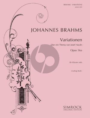 Variations on theme by Haydn op.56A