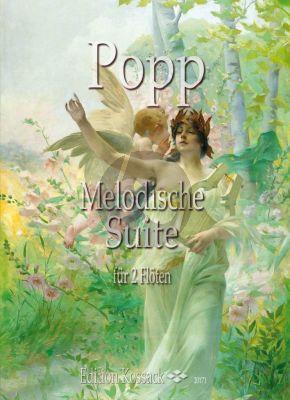 Popp Melodische Suite Op.281 2 Flöten