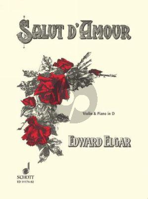 Elgar Salut d'Amour Op.12 No.3 (D-major) Violin-Piano