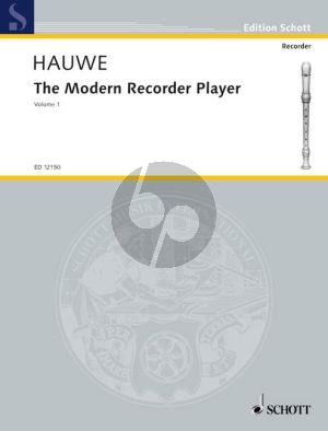 The Modern Recorder Player Vol.1 Treble Recorder