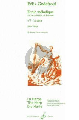 Godefroid Ecole melodique Melodies de Schubert Le Desir Op.201 Nr.3 (Le Dentu)