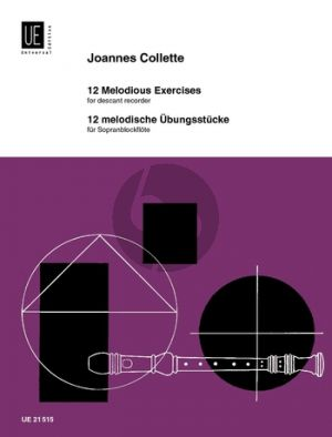 Collette 12 Melodious Exercises for Descant Recorder