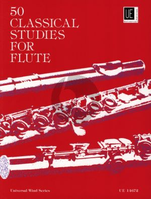 Vester 50 Classical Studies for Flute (edited by Frans Vester)