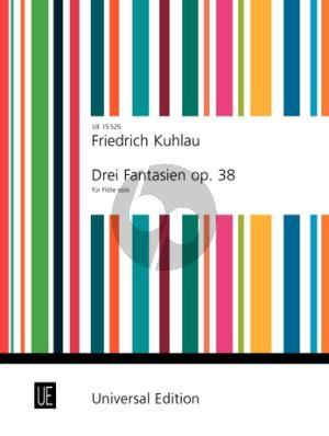 3 Fantasien Op.38 Flute Solo (Frans Vester)