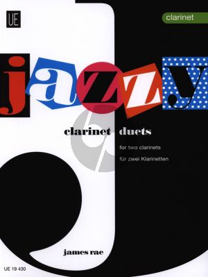 Rae Jazzy Duets for 2 Clarinets