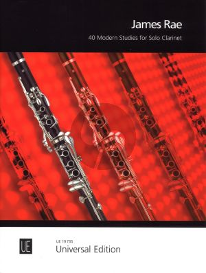 Rae 40 Modern Studies for Clarinet (Grades 1 -Diploma)