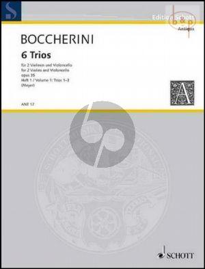 6 Trios Op.35 Vol.1 (No.1 - 3)