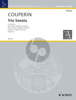 Triosonata No.1 e-minor (La Pucelle) 2 Violins-Bc