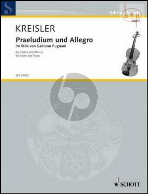 Praeludium und Allegro im Stile von Gaetano Pugnani