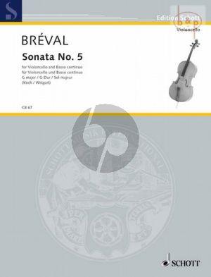 Sonata No.5 G-major