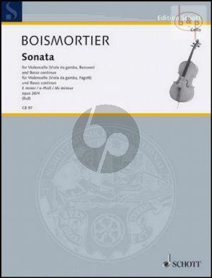 Sonata e-minor Op.26 No.4
