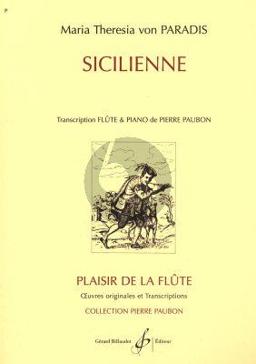 Paradis Sicilienne pour Flute et Piano (Transcription Piere Paubon)