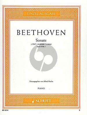 Sonate c-moll Op.10 No.1