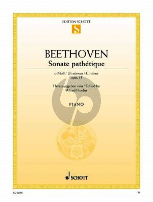 Beethoven Sonate Pathetique c-moll Op.13 Klavier (Alfred Hoehn)