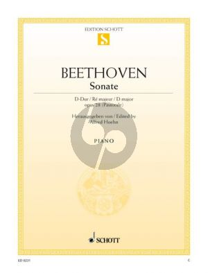 Sonate D-dur Op.28