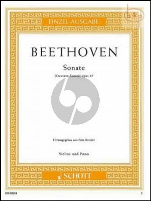 Sonata Op.47 A-major