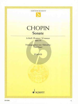 Chopin Sonate B-moll Opus 35 Klavier (mit Trauermarsch) (Emil von Sauer)