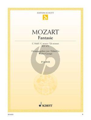 Fantasie c-moll KV 475 Klavier