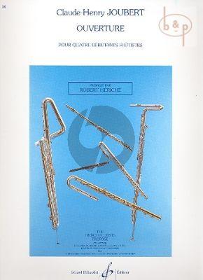 Ouverture (4 Flutes)