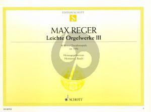 Reger 30 kleine Choralvorspiele Op.135a Orgel (Hermann Busch)