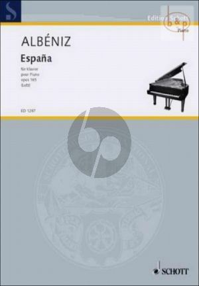 Espana Op.165 Piano solo