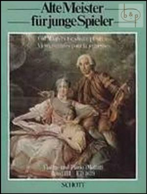 Alte Meister fur Junge Spieler (Old Masters for Young Players) Vol.3