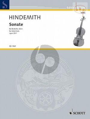 Sonata Op.25 No.1 Viola solo