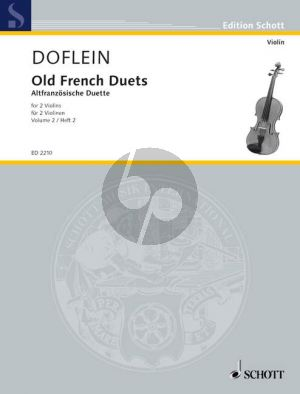 Altfranzosische Duette Vol.2 2 Violinen (Doflein)