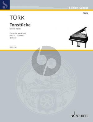Tonstucke Vol. 1 Piano 4 hds