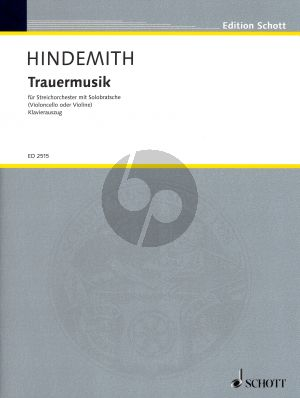 Hindemith Trauermusik