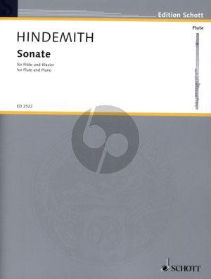 Hindemith Sonate (1936) fur Flöte und Klavier