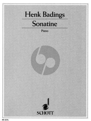 Badings Sonatine Klavier