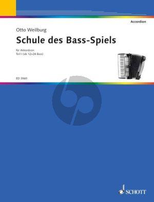 Schule des Bassspiels Vol.1 Akkordeon