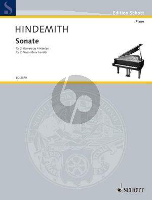 Hindemith Sonate 2 Klaviere (1942)