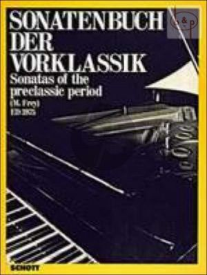 Sonaten Buch der Vorklassik (Sonatas of the Preclassic Period)